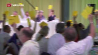 Video «Parteitag der BDP und der GLP» abspielen