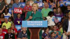 Video «Clinton zu Worten» abspielen