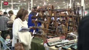 Video «Heftige Reaktionen auf Obamas Waffengesetz» abspielen