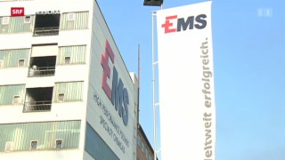 Video «EMS-Chemie: Möglicher Fall von Wirtschaftsspionage» abspielen