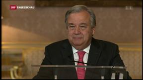 Video «Guterres als UNO-Generalsekretär nominiert» abspielen