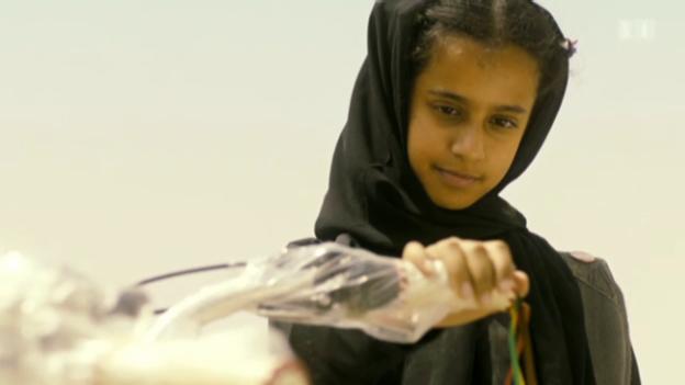Video «Zaghafte Mädchenrebellion in Saudi-Arabien» abspielen