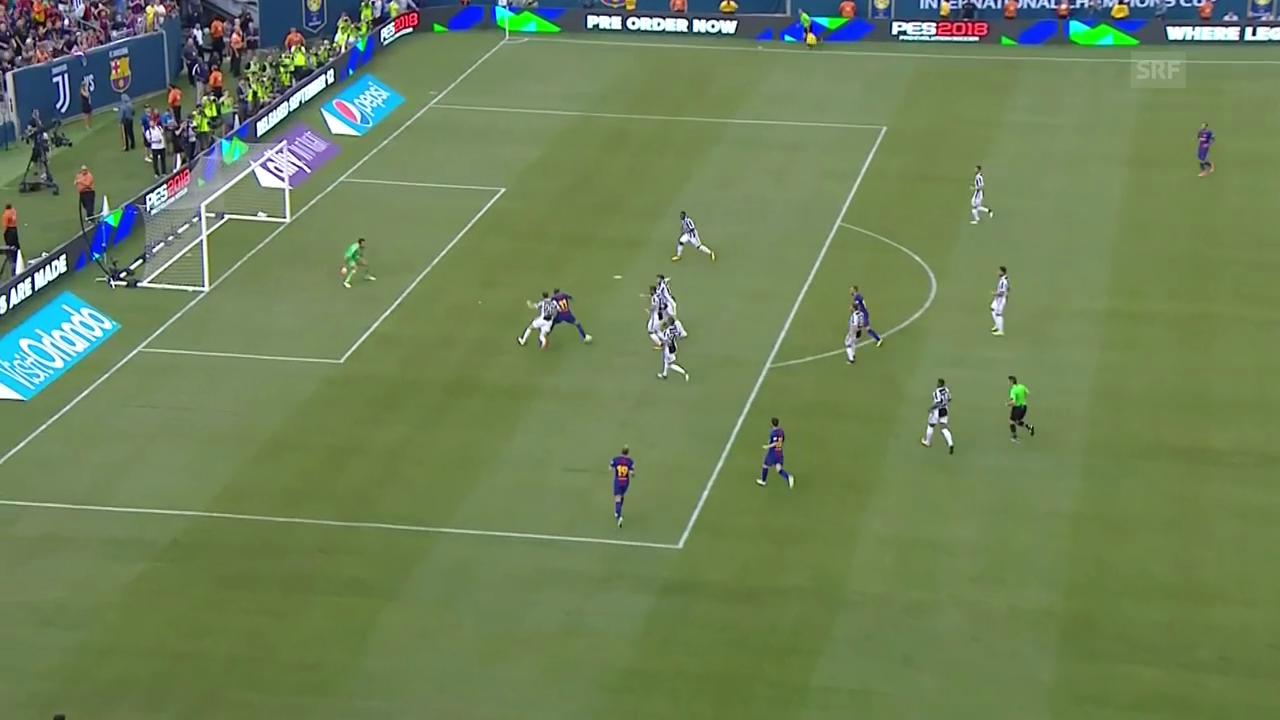 Neymars herrlicher Treffer zum 1:0