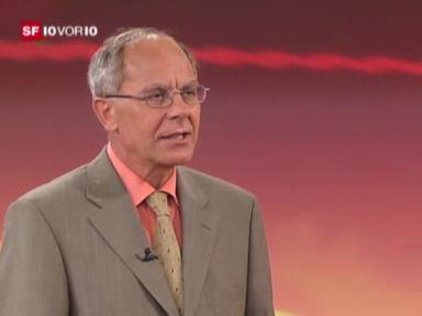 Studio-Gespräch mit Psychiater Josef Sachs
