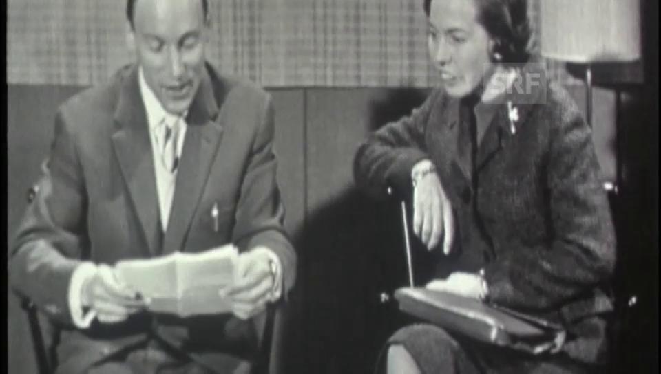 1960: Briefkastenonkel im Jugendmagazin