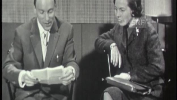 Video «1960: Briefkastenonkel im Jugendmagazin» abspielen