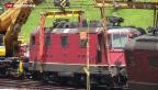 Video «Auf der Gotthardlinie geht nichts mehr» abspielen