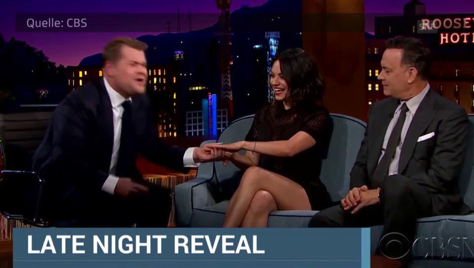 Mila Kunis in der CBS-Show