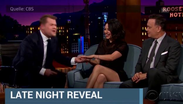Video «Mila Kunis in der CBS-Show» abspielen