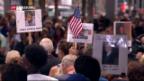 Video «USA gedenken des 11. September vor 15 Jahren» abspielen