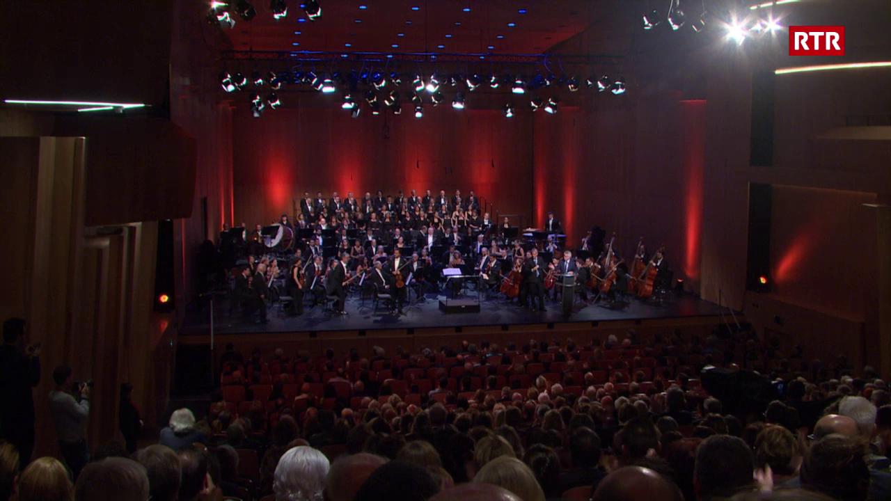 Concert d'inauguraziun dal LAC a Lugano