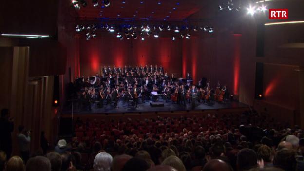 Laschar ir video «Concert d'inauguraziun dal LAC a Lugano»