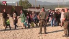Video «Drei Kinder aus Flüchtlingstransport gerettet» abspielen