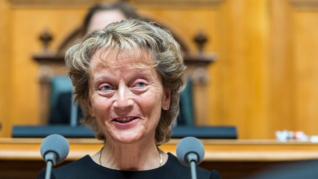 Bundesrätin Eveline Widmer Schlupf tritt zurück