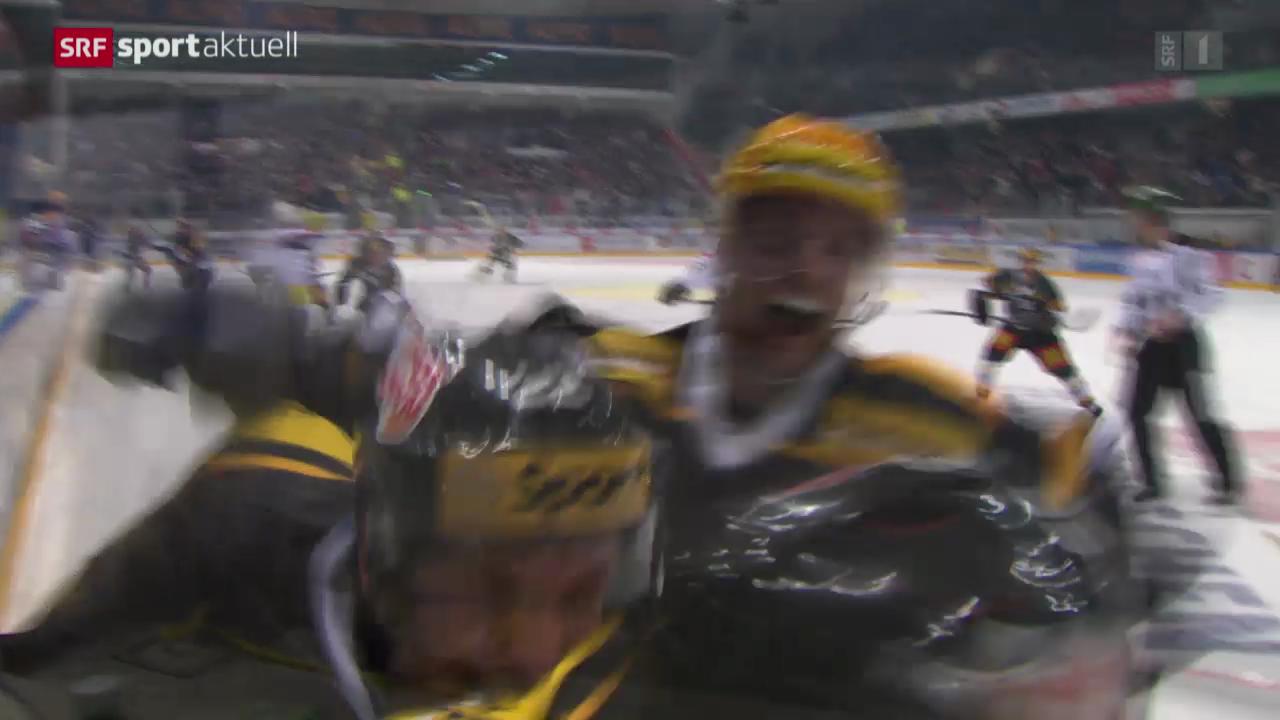 Eishockey: NLA, Lugano - Ambri