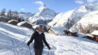 Video «Laura Zurbriggen: Das Model zeigt seine Winteoase Zermatt» abspielen
