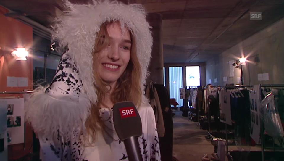 Manuela Frey über schüchterne Models