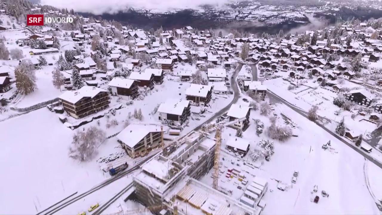 Feriendörfer boomen in der Schweiz
