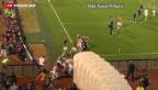 """Video «""""Drohnen-Attacke"""" bei Fussballspiel in Belgrad» abspielen"""