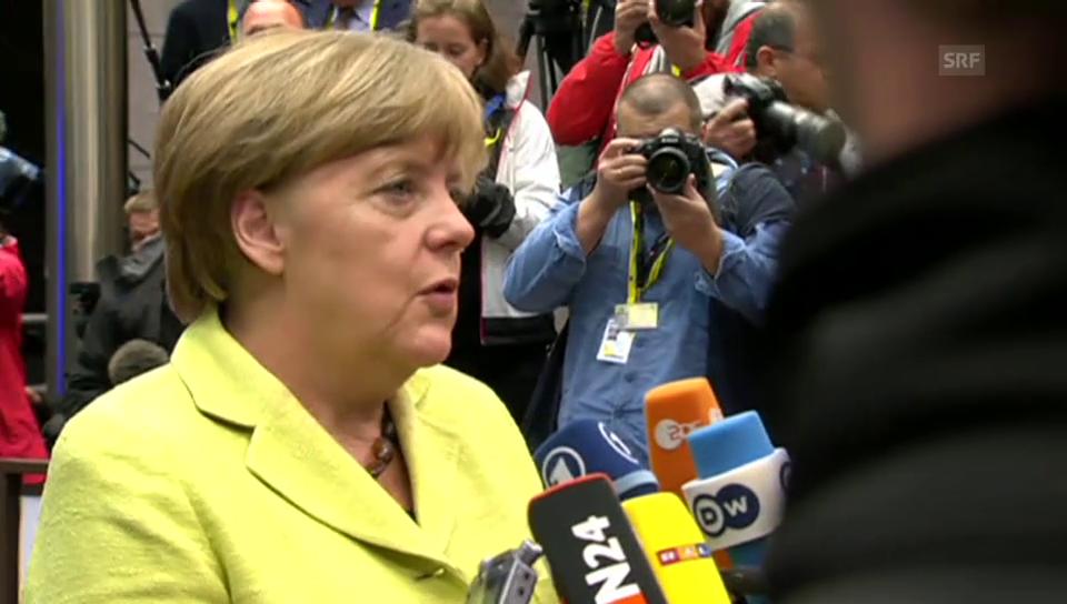 Angela Merkel spricht nur von Beratungsgipfel