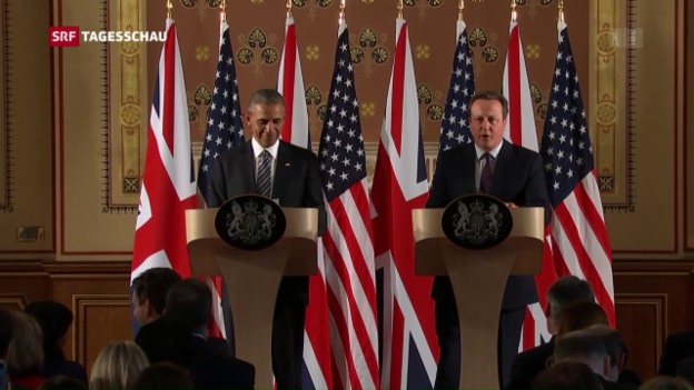 Video «Obama warnt Briten vor Brexit» abspielen