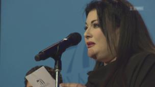 Video «Baby-Glück: Géraldine Knie bekam ihr drittes Kind» abspielen