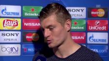 Video «Toni Kroos mit einem Ausblick auf das Madrider CL-Endspiel» abspielen