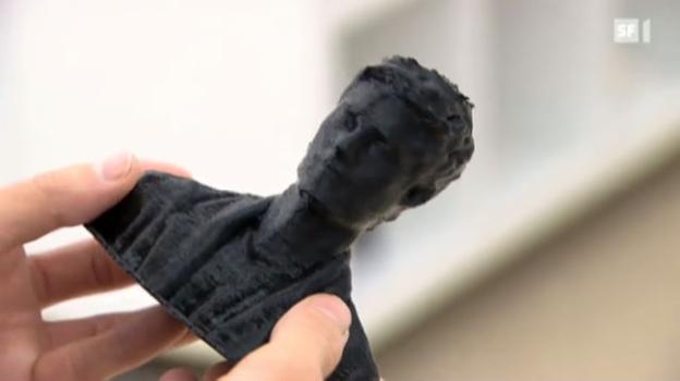 Video «Kopien aus dem 3-D-Drucker» abspielen