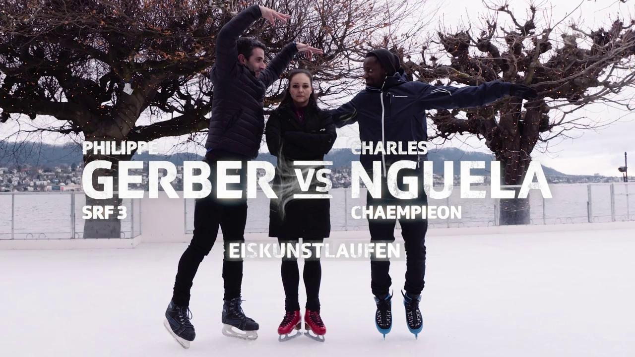 Gerber vs. Nguela im Eiskunstlauf