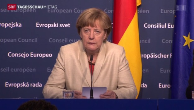 Video «Merkel: «Geld darf hier keine Rolle spielen»» abspielen