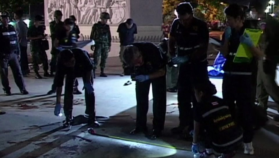 Polizeieinsatz nach Angriff auf Protestlager in Bangkok (unkommentiert)