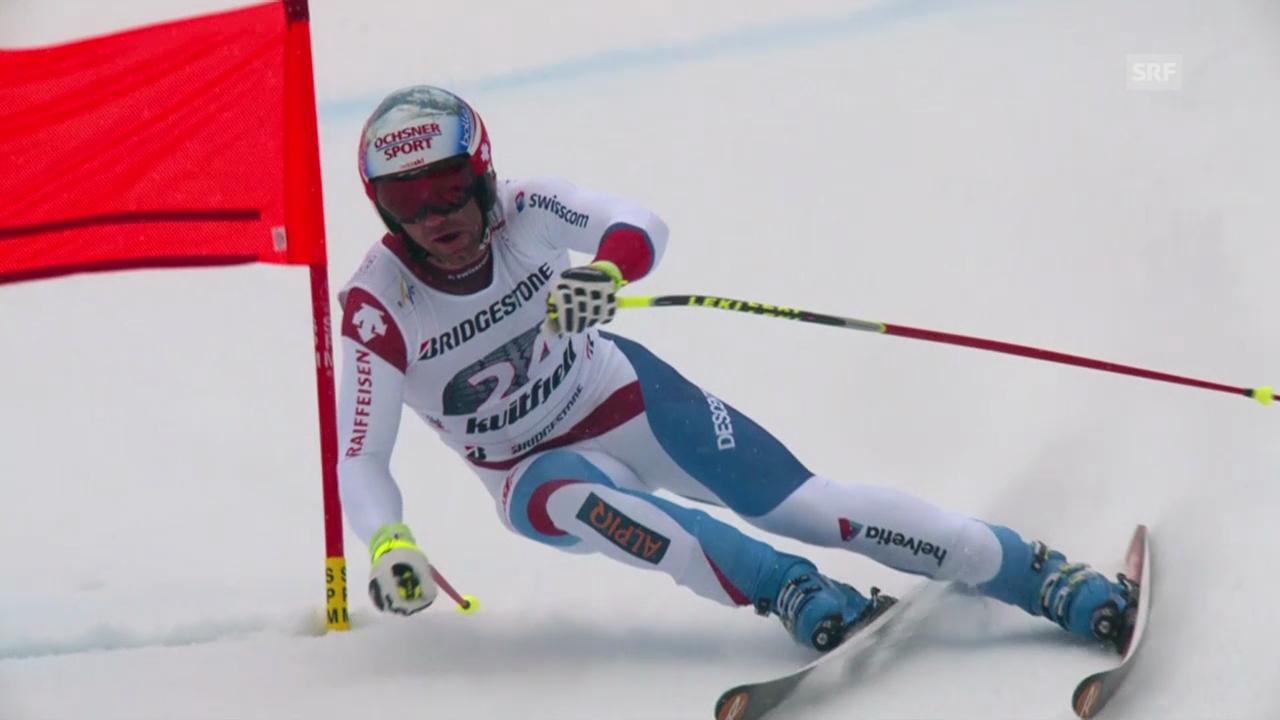 Ski: Weltcup Kvitfjell, Fahrt von Défago