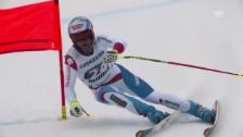 Video «Ski: Weltcup Kvitfjell, Fahrt von Défago» abspielen