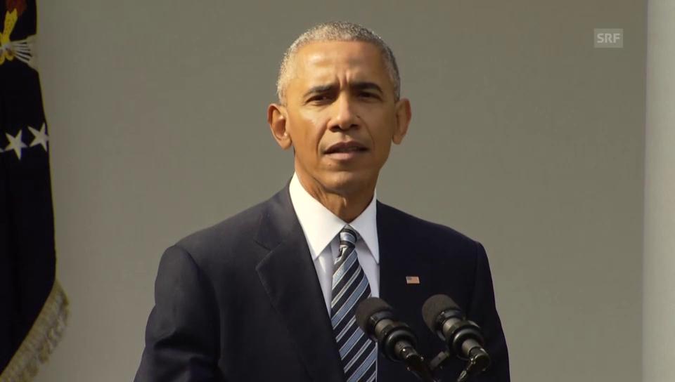 Obama: «Das Land ist stärker als vor acht Jahren»
