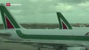 Video «Alitalia in der Krise» abspielen