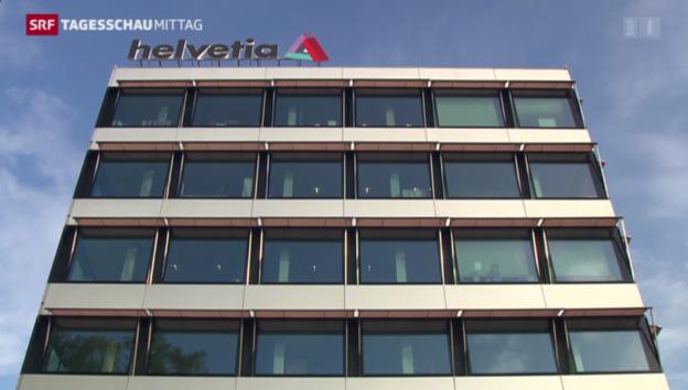 Video «Helvetia will Nationale Suisse kaufen» abspielen