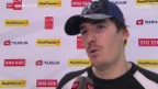 Video «Eishockey: Stimmen zu Zug - Davos» abspielen