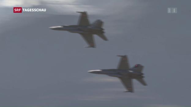 Video «Die Kampfjetpläne des Bundesrats» abspielen