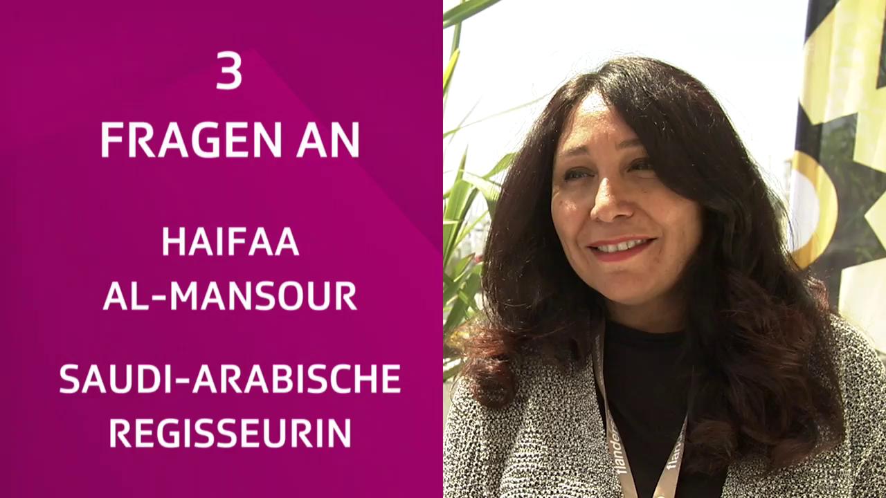 Drei Fragen an Haifaa al-Mansour