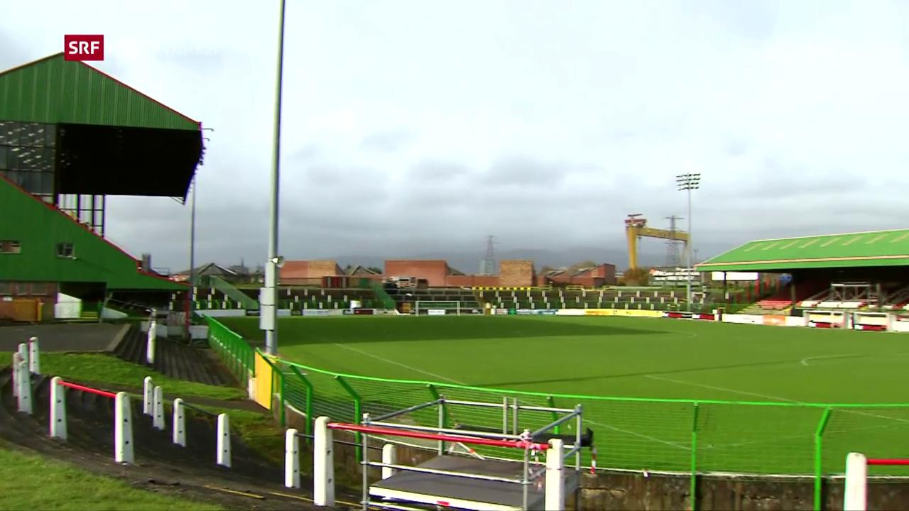 Besuch in Belfast vor der WM-Barrage
