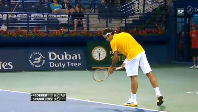 Highlights Federer-Granollers