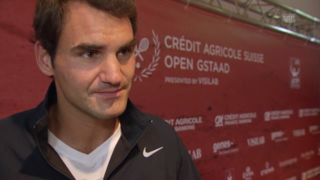 Interview mit Roger Federer