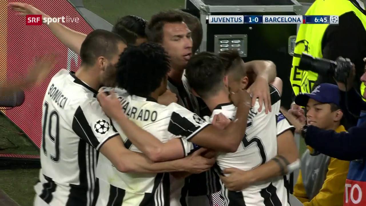 Juventus-Barcelona: Live-Highlights