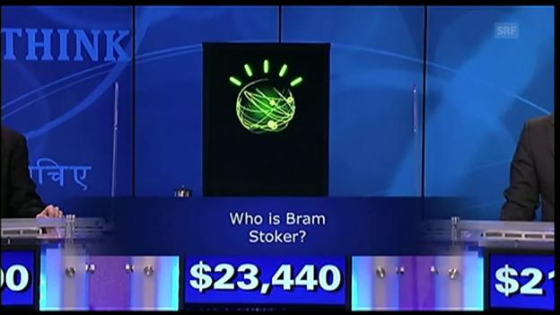 Video «Watson gewinnt in «Jeopardy!»» abspielen