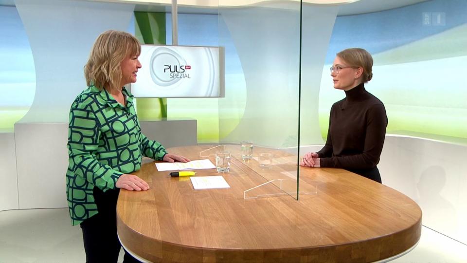 Studiogespräch mit Sarah Tschudin Sutter