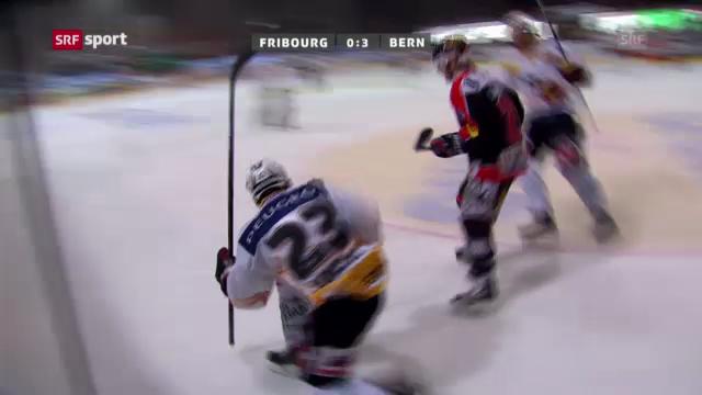 Eishockey: Fribourg - Bern («sportaktuell»