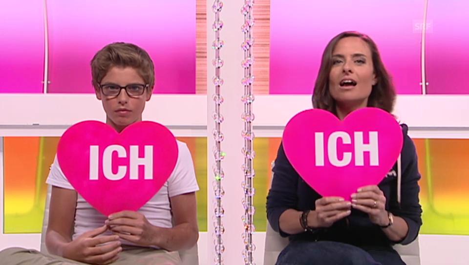 «Ich oder Du» mit Sandra Studer und ihrem Sohn Gian Müller