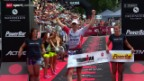 Video «Triathlon: Ironman Switzerland in Zürich» abspielen