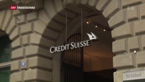 Video «Schweizer Tochter der Credit Suisse nimmt Betrieb auf» abspielen