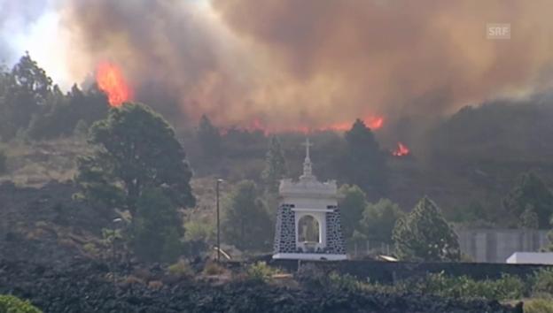 Video «Waldbrand auf La Palma (unkommentiert)» abspielen